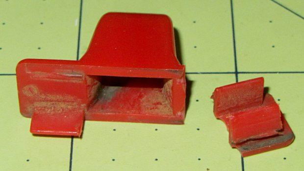 Throttle knob - broken original