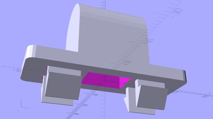 Tecumseh Throttle Knob - solid model - show view