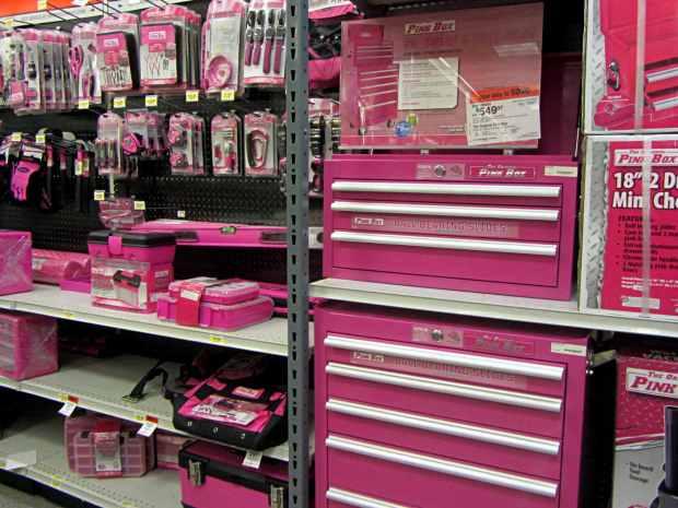 Sears Pink Box Tools