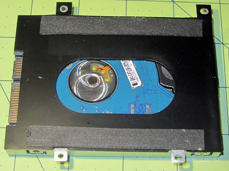 Lenovo Q150 - drive bracket - foam strips