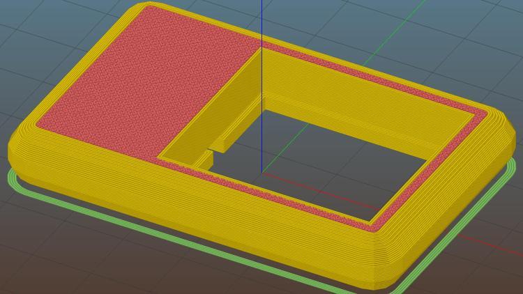 COB LED Heatsink mount - Slic3r
