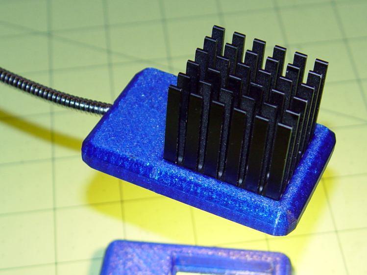 COB LED Desk Lamp - side detail