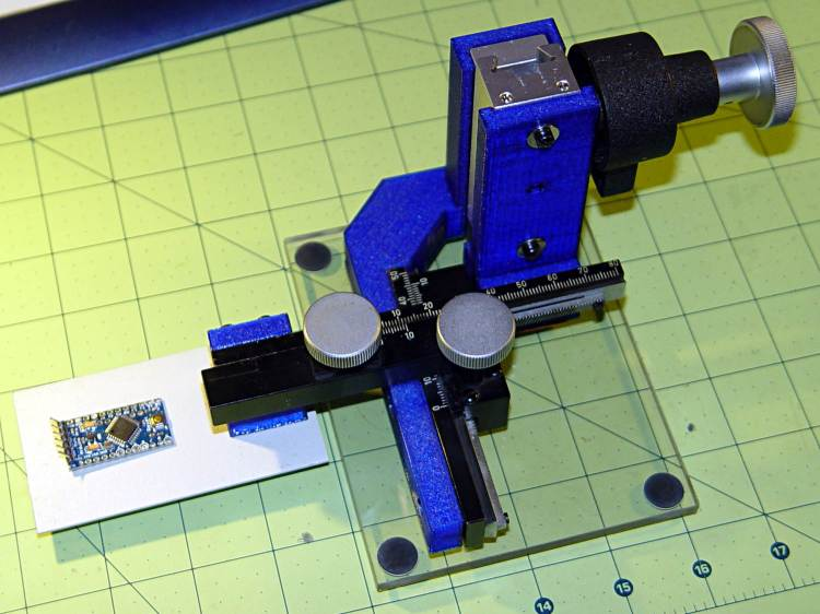 Microscope Stage Positioner