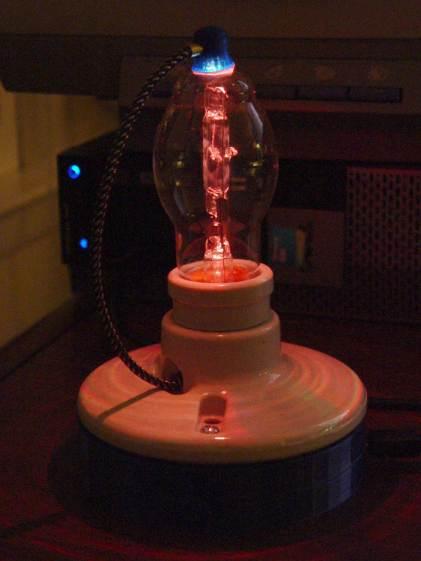 Vacuum Tube LEDs - halogen lamp - red phase