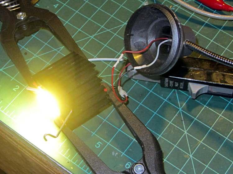 COB LED Desk Lamp - first light
