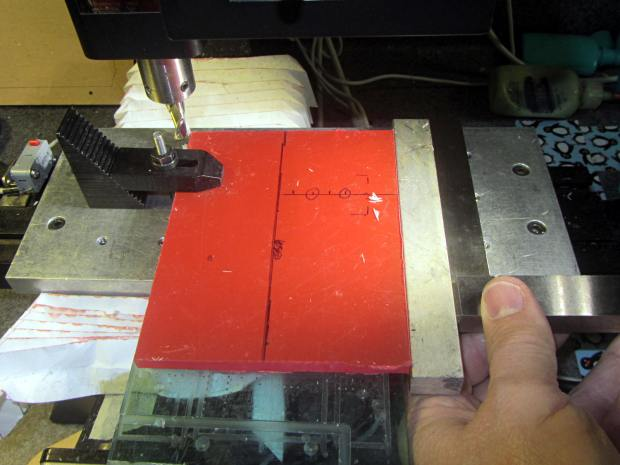 Microscope Stage Positioner - base squaring