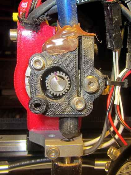 M2 Filament Drive - jam front view