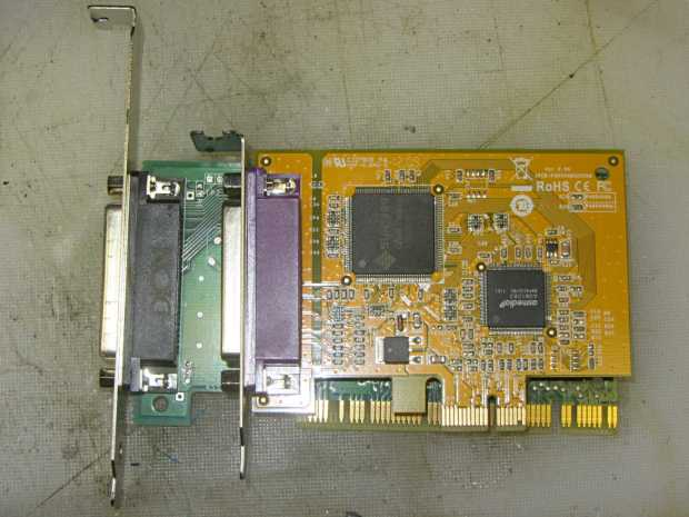 SCSI card bracket fix - before