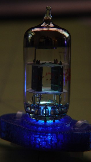 Vacuum Tube LEDs - Noval tube - blue phase