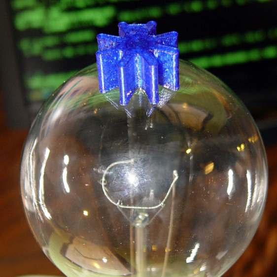 Vacuum Tube LEDs - ersatz heatsink plate cap