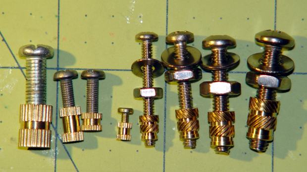Threaded Inserts - metric and inch