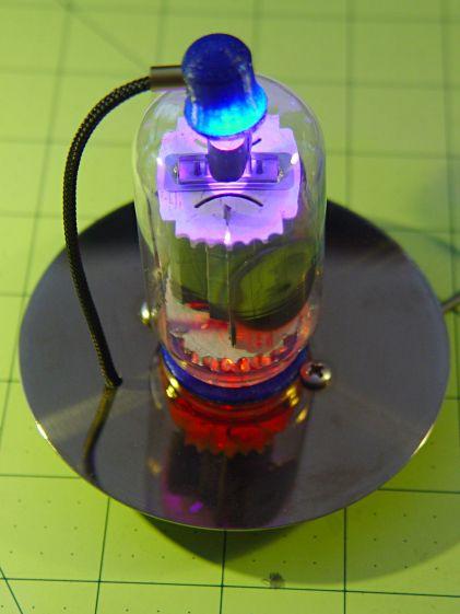 Vacuum Tube LEDs - IBM 21HB5A drive platter socket