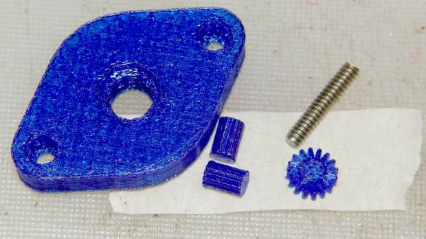 Noval socket - knurled inserts - support structures