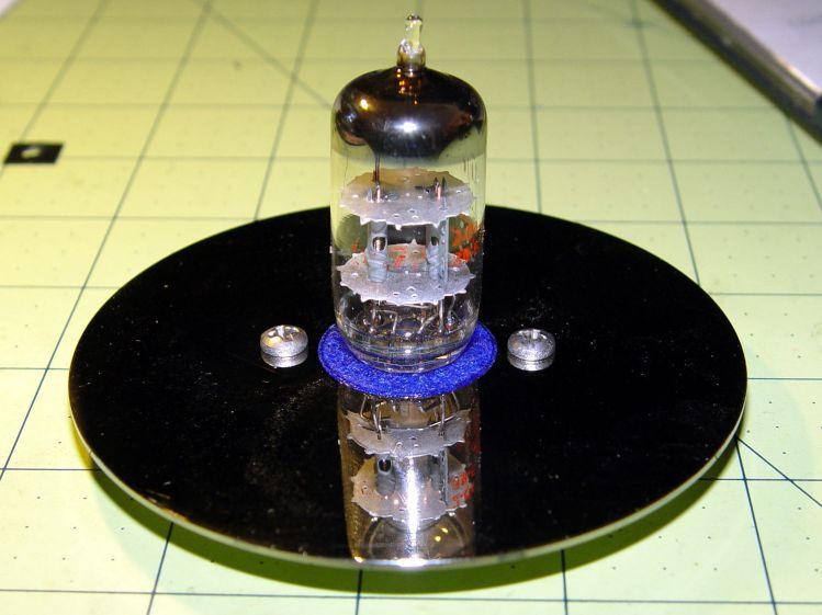 Noval socket - tube on platter