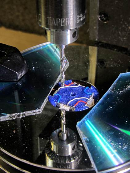 Mood Light - aligning thermocouple hole