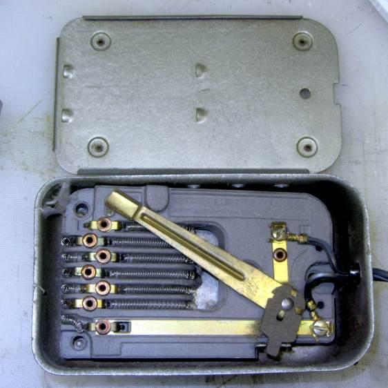 Kenmore Model 158 - new-ish foot pedal resistor