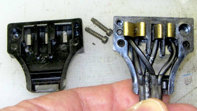 Kenmore Model 158 - new-ish foot pedal connector