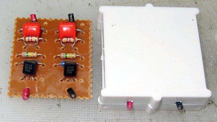Fluorescent Shoplights - starter circuit