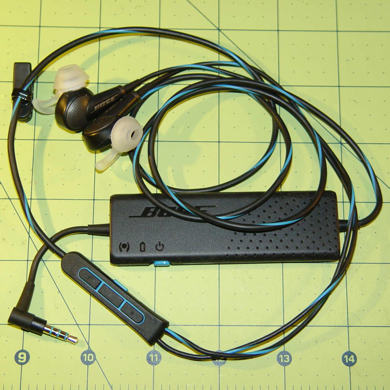 bose noise cancelling headphones blue. bose qc20 earphones noise cancelling headphones blue