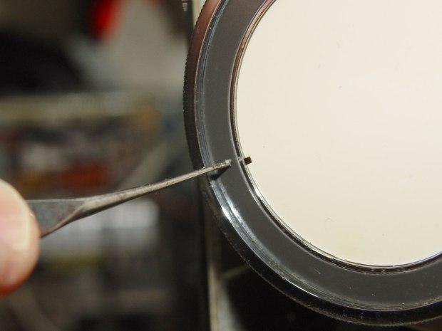 Kenmore 158.17032 - Handwheel cap removal