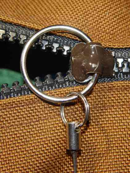 Belt Pack Zipper - repaired