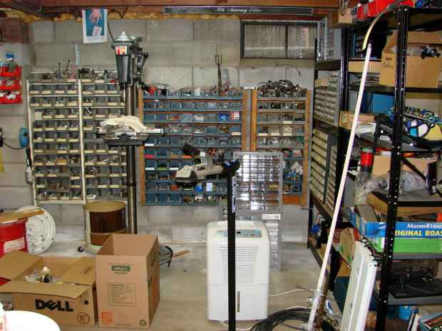 Basement shop - right - before