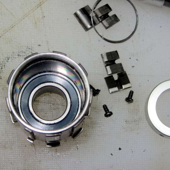Phil Wood hub - internal bearing