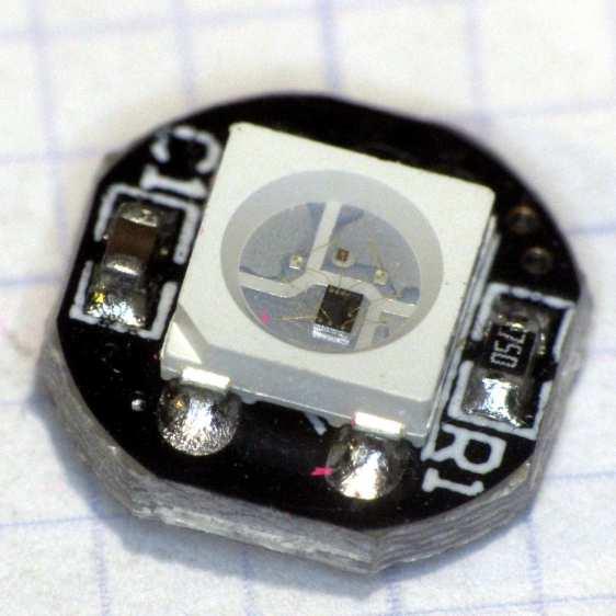 Failed W2812B Ersatz Neopixel
