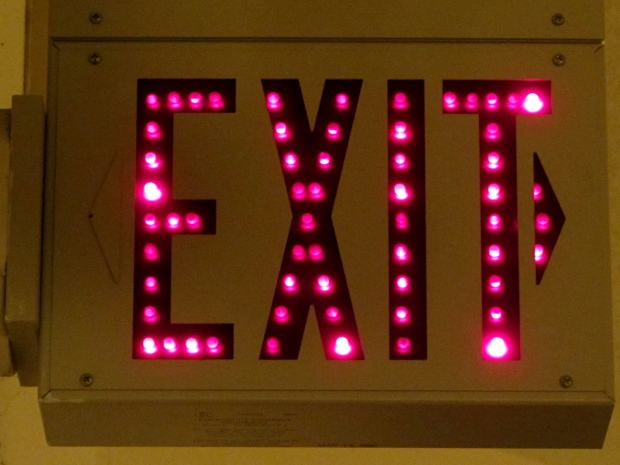 Exit Sign - LED aging