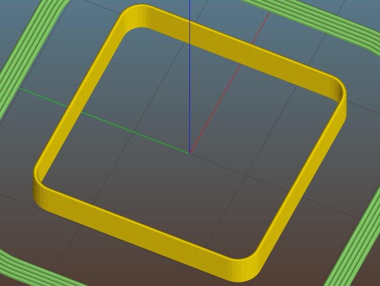 Thinwall open box - 0.40 wall - Slic3r