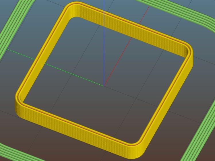 Thinwall open box - 0.80 wall - Slic3r