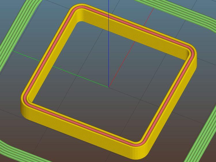 Thinwall open box - 1.20 wall - Slic3r