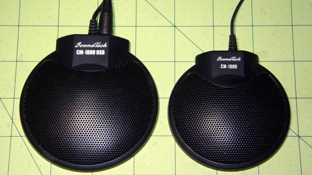SoundTech CM-1000USB and CM-1000 microphones