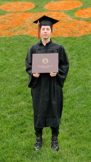 Karen - canonical tiger paw graduation picture