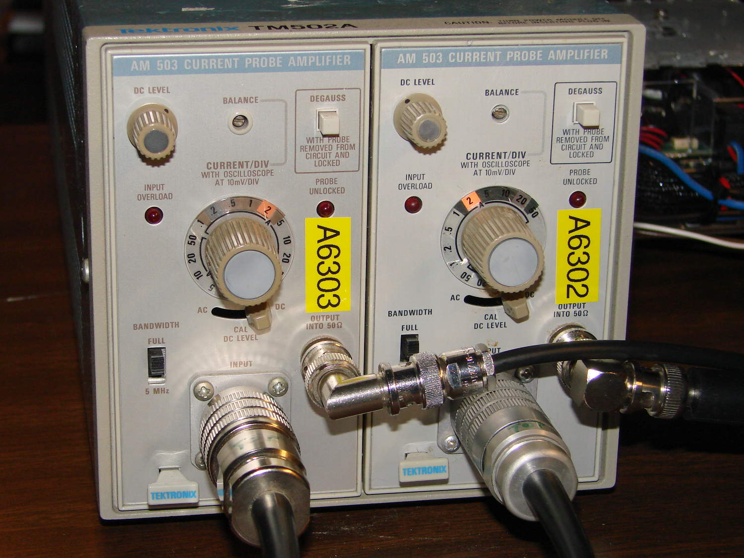 Hall Effect Current Probe Tektronix : Tektronix am a and in full effect the