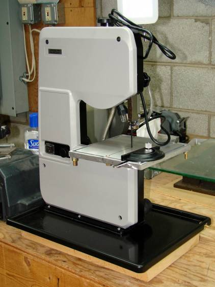 Micro-Mark Bandsaw - mostly ready