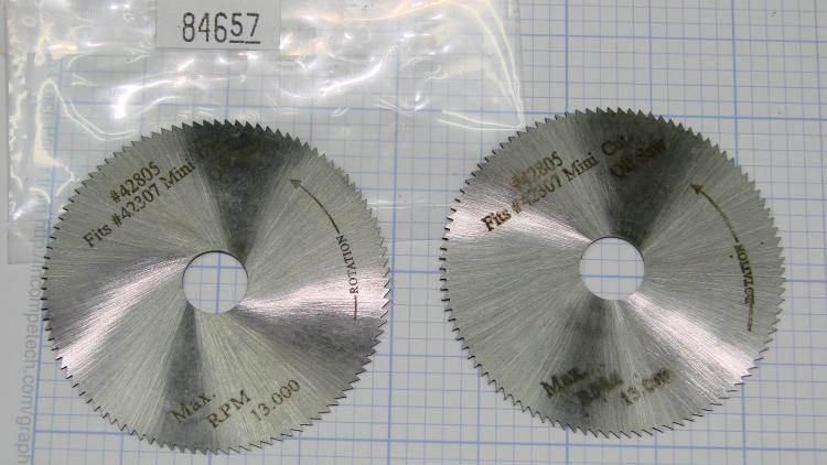 2 inch blades - Micro-Mark vs Harbor Freight