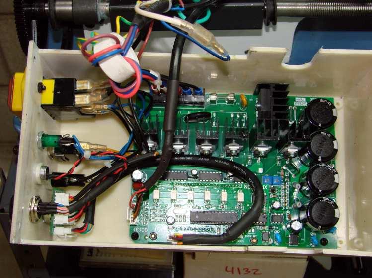 LMS mini-lathe - control box interior
