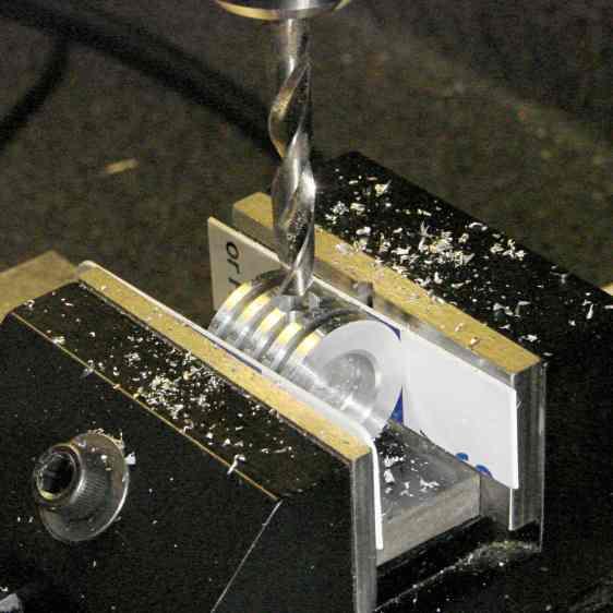 Ersatz aluminum heatsink - drilling