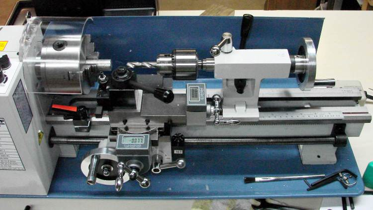 LMS Mini-lathe - drill chuck vs bed length