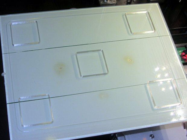 Thinwall open box - array on platform - 3w 40 3.0