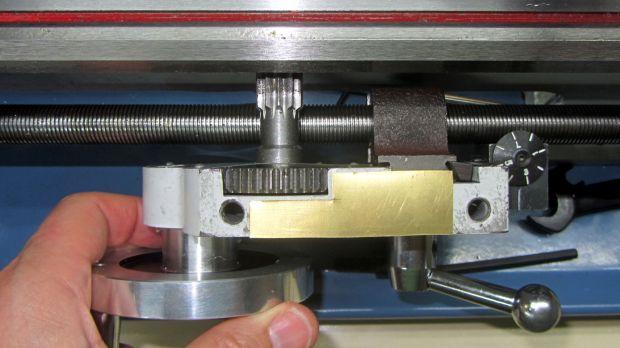 LMS mini-lathe - apron shim