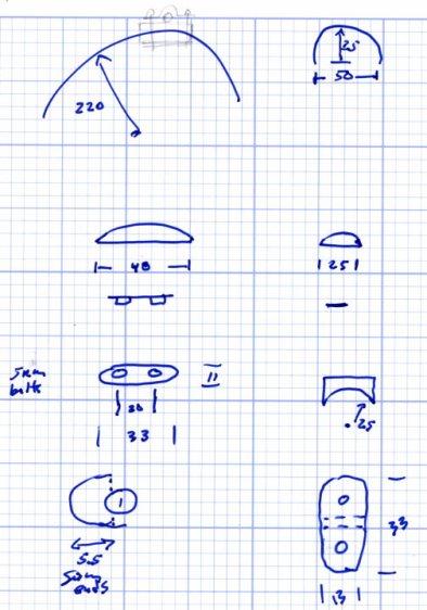 BOB Yak Fender Mount - doodles