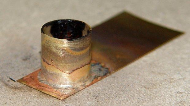 Tuner cap - soldered