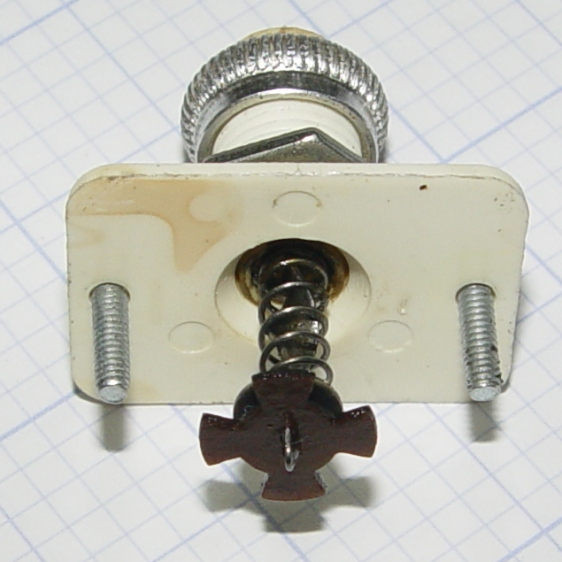 Model 158 Power Switch - actuator stem