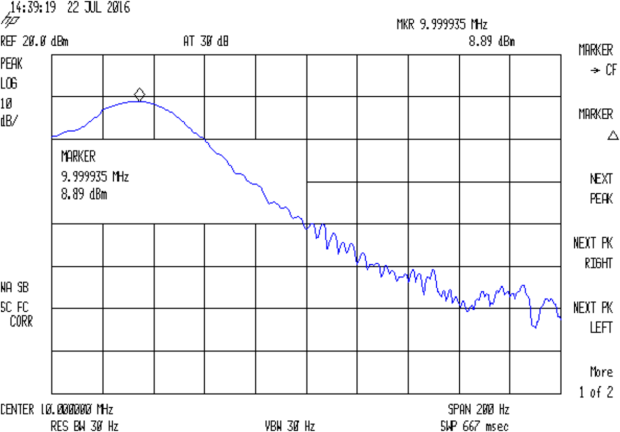 HP Z2801A GPS Receiver - 10 MHz ref - HP 8591E