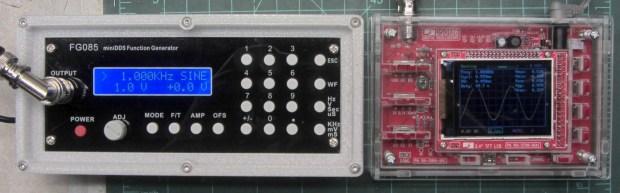 JYE Tech - FG085 Fn Gen - DS138 Oscilloscope