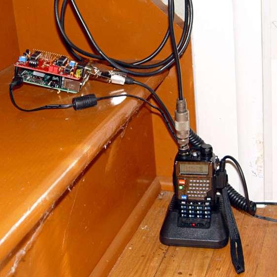 KE4ZNU-10 APRS iGate - hardware