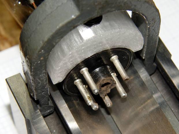 0D3 Octal tube - Dremel grinding