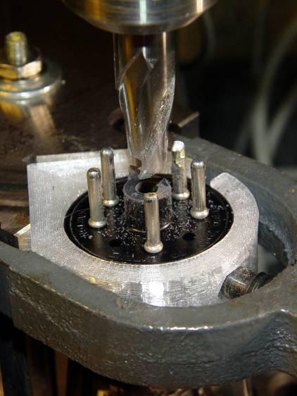 0D3 Octal - milling spigot